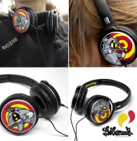 Bow and arrows headphones by Bobsmade