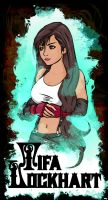 Tifa Lockhart by beanzomatic