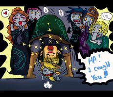 Link caught Alex! by Christy58ying
