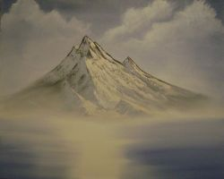 Just mountain reflection by Ant787