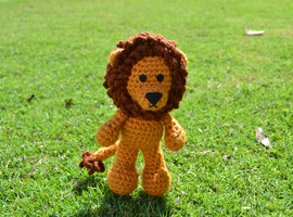 Griffin, the Lion Amigurumi by MiaHandcrafter