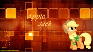 Apple Jack 'Retro' wallpaper by Djbrony923