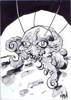 War of the Worlds sketchcard 04 by RobertHack