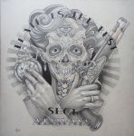 Tattoo design - Death is the best shot by Xenija88