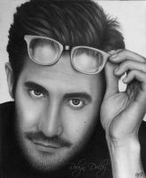 Jake Gyllenhaal by robdolbs