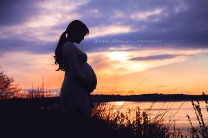 Mother and Child III by inktice