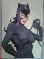 catwoman by papinucho