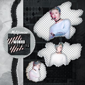 Pack Png 114 | Wonho | #3 by IDreamWithFire