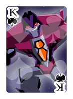 Queen of Spades Starscream by Shioji-san