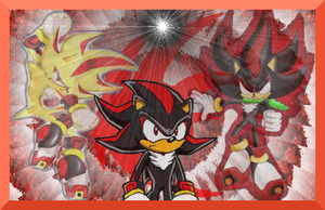 Shadow the hedgehog wallpaper  by Jappy12