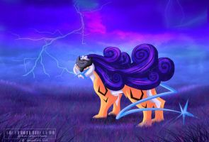 #243: Raikou (for SeashellJen) by Somnusvorus