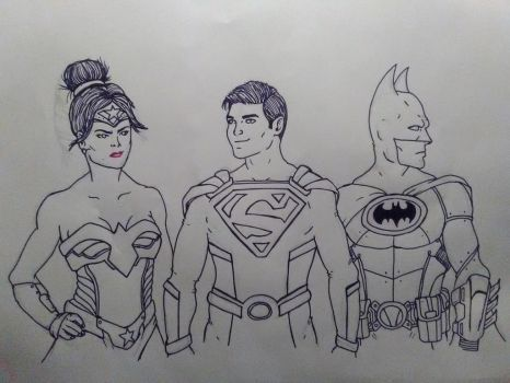 DC Nation: Trinity by KingCozy7