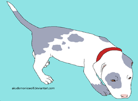 Unnamed Pitbull :3 by PancakeShiners