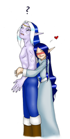 Kethae and Illiam by daiin