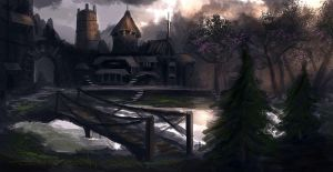 Forest Town by dustycrosley
