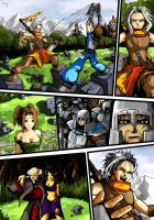 Comics page by Mzag
