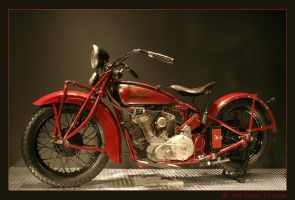 Indian Scout by davidstogie