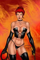 Black Queen By Carlos Braga by winchester01