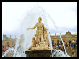 Fountain at Versailles by BluePalmTree