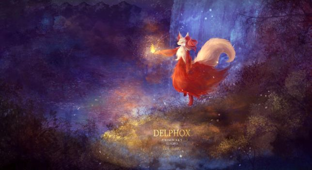 pokemon X Y delphox by mizato