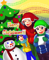 Christmas card by naoguiarts