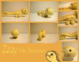 Izzy the Dinosaur by Ink--It