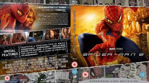 Spider-man 2 Blu-Ray cover by MrPacinoHead