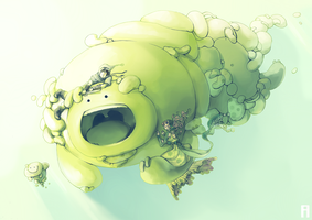 Savage BloB by merry-zazoue