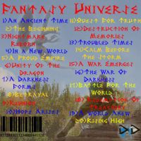 CD Cover Back by DraveDragonheart