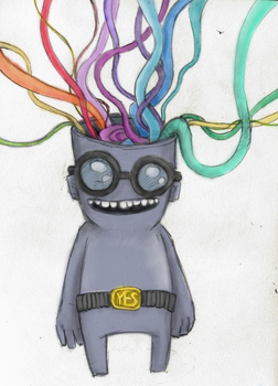 Rainbow Brains is Yes by dylanisyes