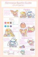 Slimeance Species Guide by fluffbat
