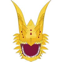 Fanglongmon Minimalista by LoveRenamon