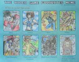The Video Game Favorites-Meme by Hukkis
