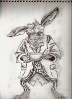Thackery Earwicket March Hare by thedarkenedkeeper