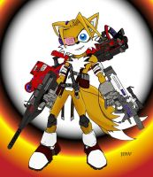 Tails Comic Warfighter +color by CapnChryssalid