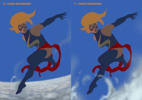 Ms Marvel Steps 10 + 11 by davidyardin