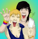 Meghan and Kellin by KatCantDance