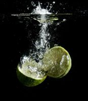 Lime splash by mogwaj