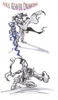 soul reaver brush drawing_02 by AlexBaxtheDarkSide