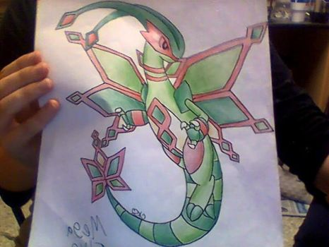 Mega Flygon by Casey02kelly