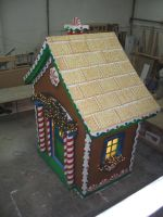 Ginger bread House IV by Milloune