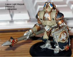 Lancer Light Warjack by t-subgenius