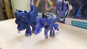 Princess Luna figurines (My Little Pony) by cedricc666