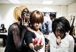 Death Note Cosplay at AnimeKon Expo by chaserxfly