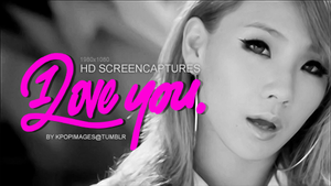 2NE1 'I Love You' MV HD Screencaptures by xSparklyVampire