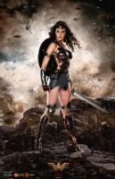 Wonder Woman Poster by GOXIII