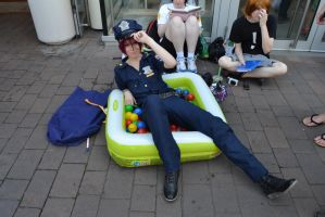 Rin Matsuoka at Cosday in Frankfurt by NoStormWithoutRain