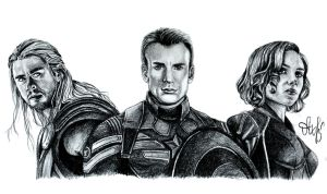 The Avengers by Tenth10
