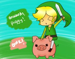 GO PIGGY GO by Jhordee