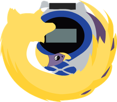 NEW renamon firefox icon by RenamonsRevenge